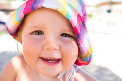 Sunny Smile Royalty Free Stock Photos