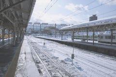 Hokkaido Railway royalty free stock photography
