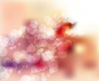 Sunny soft  blurred bokeh background Royalty Free Stock Photography