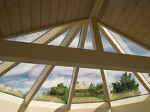 Sunny solarium conservatory sun room Royalty Free Stock Photography