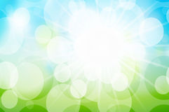 Sunny spring background Royalty Free Stock Photography