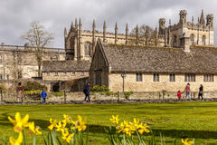 Sunny spring day in Oxford Stock Images