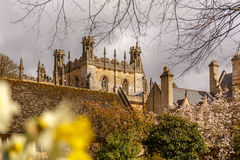 Sunny spring day in Oxford Royalty Free Stock Photos