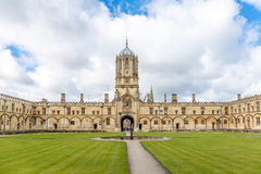 Sunny spring day in Oxford Stock Image