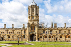 Sunny spring day in Oxford Royalty Free Stock Photo