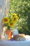 Sunny Still Life fotografie stock