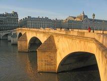 Sunny stone bridge Stock Photo