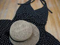 Sunny Summer Apparel Images stock