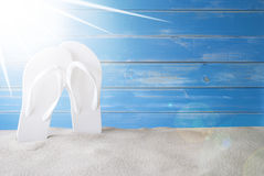 Sunny Summer Background With Copy Space Stock Images