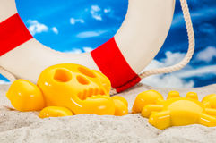 Sunny summer concept, saturated colors Stock Photo