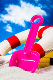 Sunny summer concept, saturated colors Royalty Free Stock Image