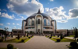The most beautiful museum in Russia stock photography