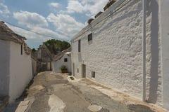 Sunny Summer Days In Puglia sydliga Italien Arkivfoto