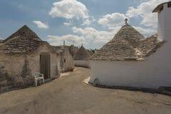 Sunny Summer Days In Puglia sydliga Italien Arkivbilder