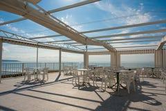 Sunny summer terrace Royalty Free Stock Photo