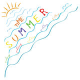 Sunny summer time Royalty Free Stock Image