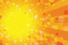 Sunny summer tropical abstract background Royalty Free Stock Image