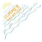 Sunny summer vacation Royalty Free Stock Photo