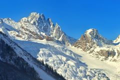 Sunny summits Royalty Free Stock Photography