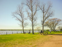 Sunny Sunday in Rosario Argentina Royalty Free Stock Image