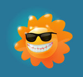 Sunny in sunglasses Royalty Free Stock Photo