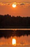 Sunny symmetry Royalty Free Stock Photo
