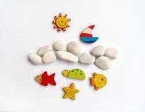 sunny szczęśliwy czas wakacji Fotografia Stock
