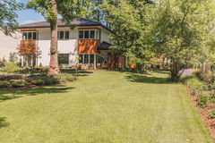 Free Sunny Terrace, Garden And Lawn Royalty Free Stock Image - 96467626