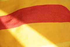 Sunny textile background Royalty Free Stock Photos