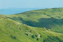 Sunny top of a mountain Royalty Free Stock Photos