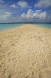 A sunny, tropical beach Stock Image