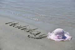 Sunny tropical beach Stock Photo