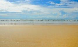 Sunny tropical beach on the island Royalty Free Stock Photography