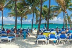 Sunny Tropical Beach Stock Image