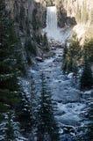 Sunny Tumalo Falls Fotos de archivo