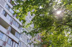 Sunny Urbanization Royalty Free Stock Photography