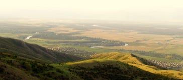 Sunny valley Stock Photo