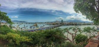 Sunny Vietnam panorama Royaltyfria Foton