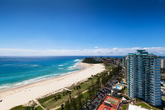 Sunny view of Coolangatta Royalty Free Stock Photography