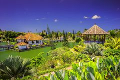 Ujung Water Palace/Bali Indonesia/. Sunny view of Ujung Water Palace / Bali Indonesia Royalty Free Stock Photography