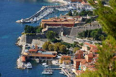 Sunny Villefranche Stock Image