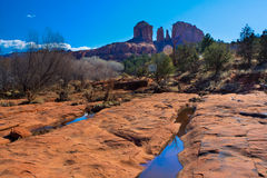 Sunny Vista of Sedona, Arizona Stock Image
