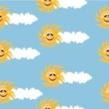 Sunny wallpaper Stock Photos
