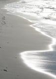 Sunny water. Detail from sunny danish beach Stock Photo