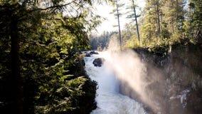 Sunny Waterfall Stock Photos