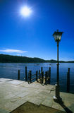 Sunny Waterfront Royalty Free Stock Photos