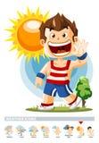Sunny. Weather Icon Stock Image