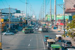 Free Sunny Weather In A Busy City Of Bacoor, Cavite Philippines Royalty Free Stock Image - 148100436
