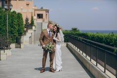 Sunny wedding day Stock Photo