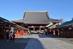 Senso-ji Temple Asakusa Tokyo Japan Stock Photo